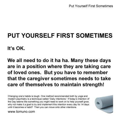 DI17_Put yourself first sometimes